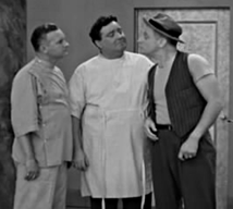 Les Damon with Gleason and Carnie in The Honeymooners episode, Pal-O-Mine from 1955