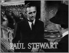 Paul Stewart as Raymond, in Citizen Kane (1941)