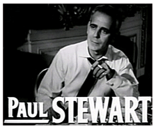 Paul Stewart in The Bad and The Beautiful (1952)