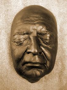Peter Lorre life mask, ca. 1959