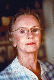 Jessica Tandy as Miss Daisy Werthan, ca. 1988