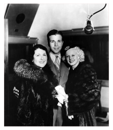 Powell with Jean Harlow, ca. 1936