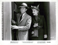 Dick Powell with Peggy Dow in You Never Can Tell (1951)