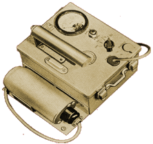 1949 PRI Model 103 Geiger Counter that would have been used to test the effectiveness of the radioactive iodine treatments described in Episode No. 4