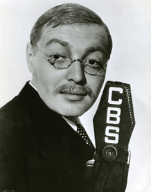Lorre in costume for Radio's Hollywood Hotel program, Nancy Steele is Missing, Friday, March 5, 1937