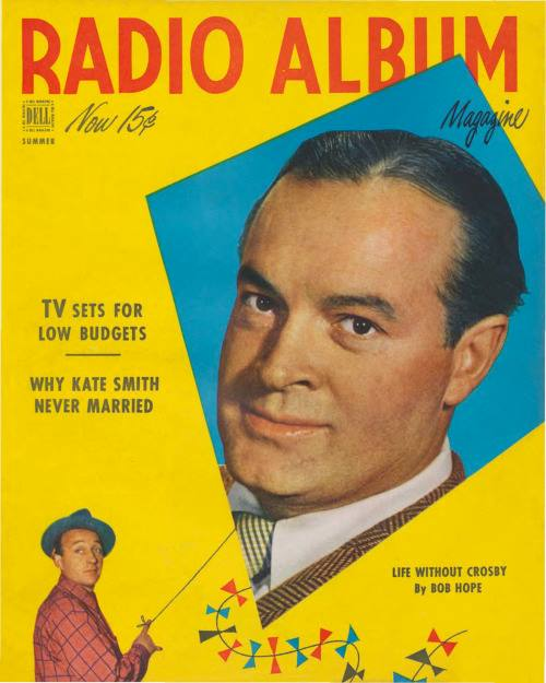 Cover of Radio Album magazine. 1949