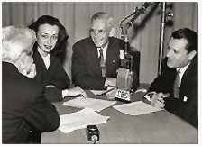 Vox Pop over CBS with Parks Johnson and Warren Hull c. 1946