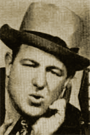 Teddy Bergman (later known as Alan Reed) was Radio's first Joe Palooka