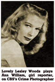 Lesley Woods portrayed Ann Williams for the Fall 1946 Season