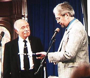 Ralph Bell2 receivs award