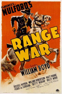 Betty Moran made her Film debut in Clarence Mulford's 1939 Hopalong Cassidy vehicle Range War (earlier working title 'Lawful Outlaws')