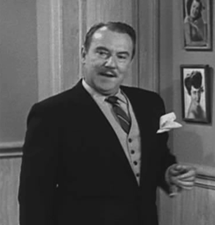 Gale Gordon as Mr. Kirkland in The Real McCoys from 1959