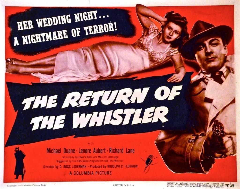 The Return of the Whistler (1948)