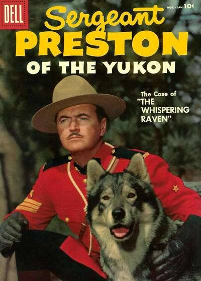 SERGEANT PRESTON OF THE YUKON Comic/ Richard Simmons