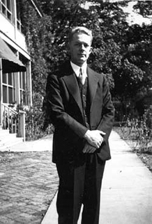Early Photo of Robert Arthur, Jr. at Ann Arbor, Michigan, ca. 1929