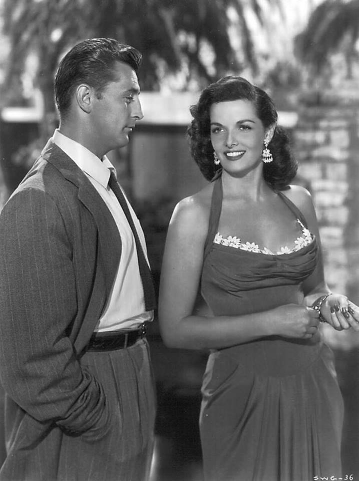Robert Mitchum and Jane Russell in 'Macao' directed by Josef Von Sternberg, 1952