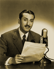 Robert Trout more often associated with CBS than NBC voiced all of the news segments for The Quick and The Dead