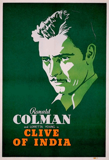 Ronald Colman in Clive of India circa 1935