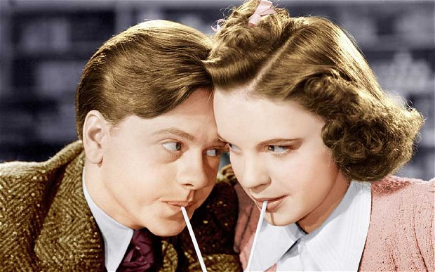 Judy Garland and Mickey Rooney in Babes in Arms