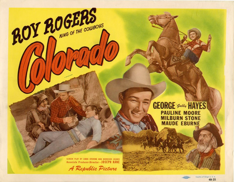 Roy Rogers and his faithful steed, Trigger