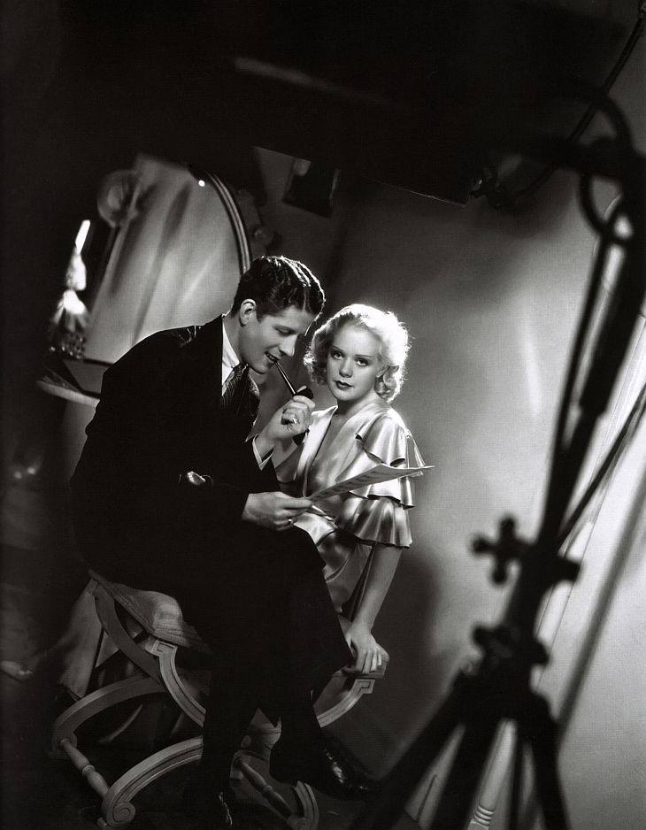 Rudy Vallee with Alice Faye