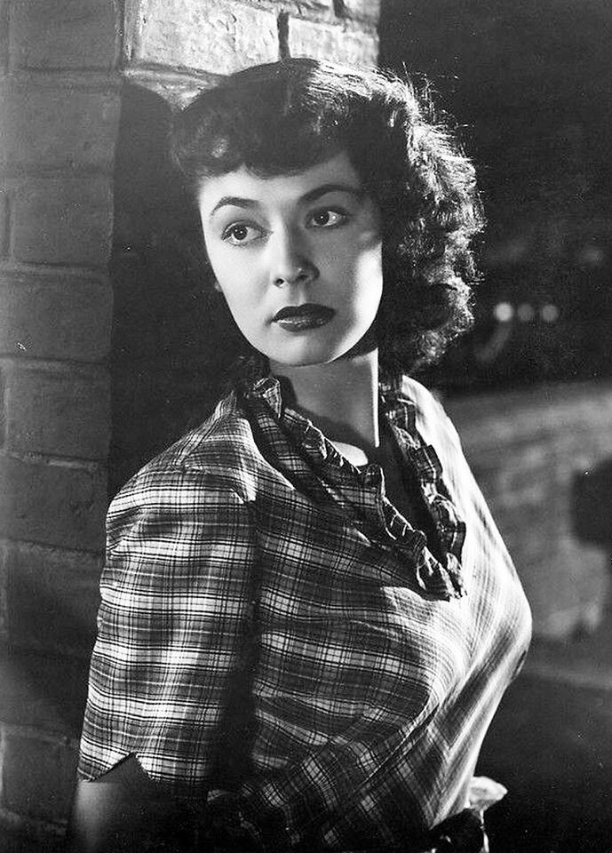 Actress Ruth Roman