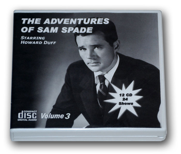 THE ADVENTURES OF SAM SPADE Volume 3