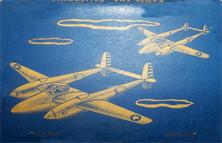 Santa Ana Air Base matchbook (reverse)