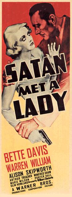 1936's Satan Met A Lady
