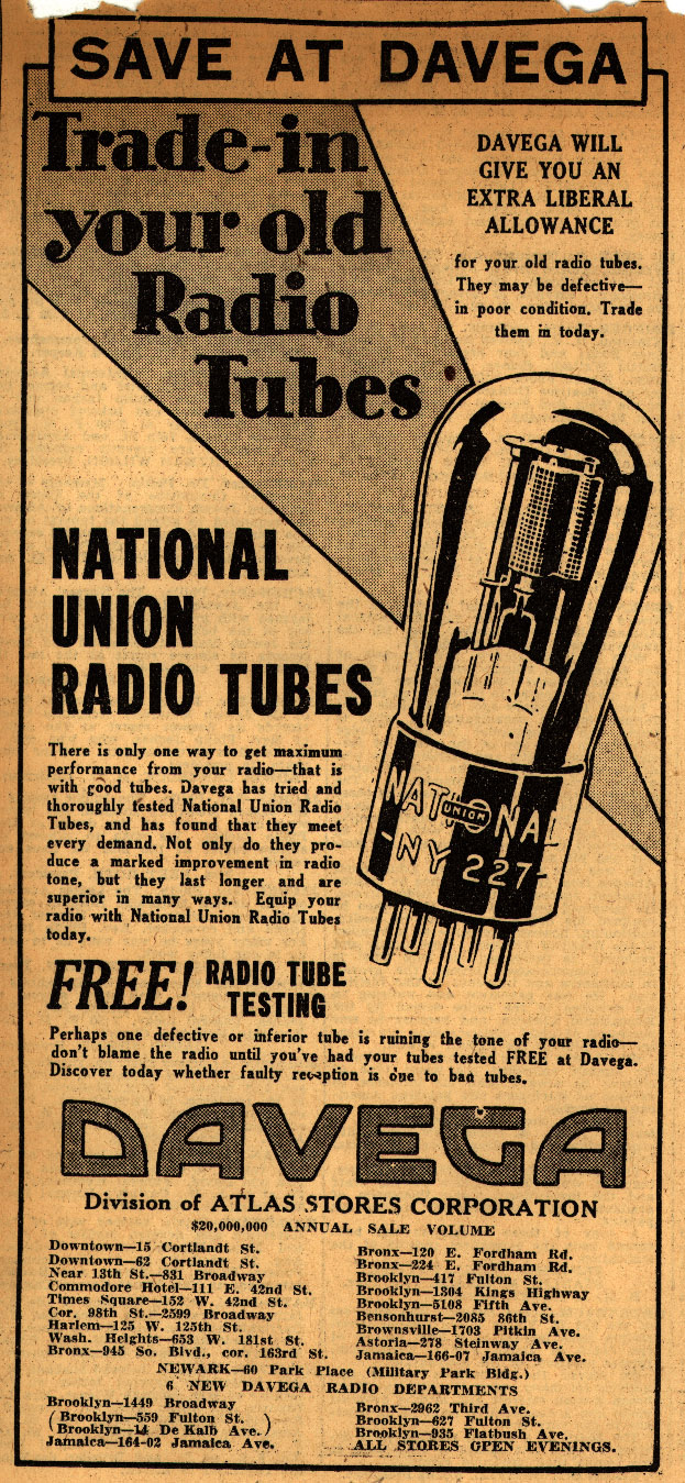 Save_At_Davega_Trade-in_your_old_Radio_Tubes