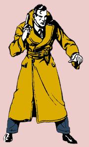 Dashiell Hammett's Secret Agent X-9 as inked by Alex Raymond in 1934