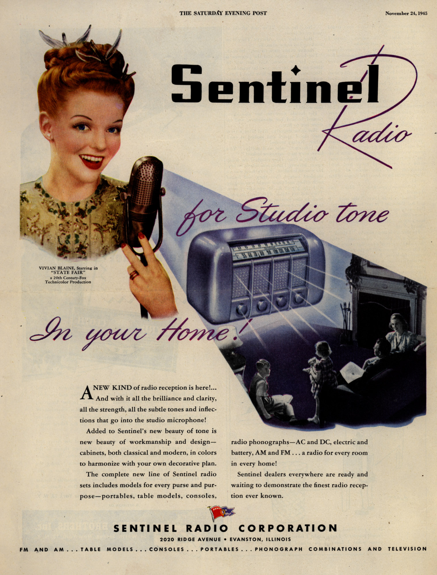 Sentinel_Radio_for_Studio_tone_In_your_Home