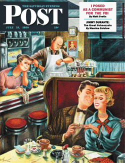 The story of Matt Cvetic's life as 'a communist for the F.B.I.' was serialized in a three-part story that first appeared in The Saturday Evening Post of July 15 1950