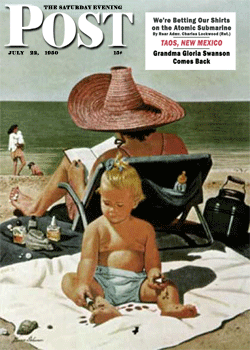 Installment two appeared in The Saturday Evening Post of July 22 1950