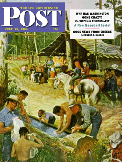 Installment three appeared in The Saturday Evening Post of July 29 1950