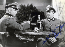 Parley Baer with Marlon Brando in 1958's The Young Lions