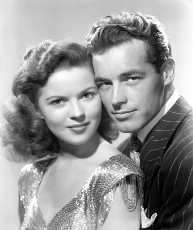 Shirley Temple and Guy Madison in