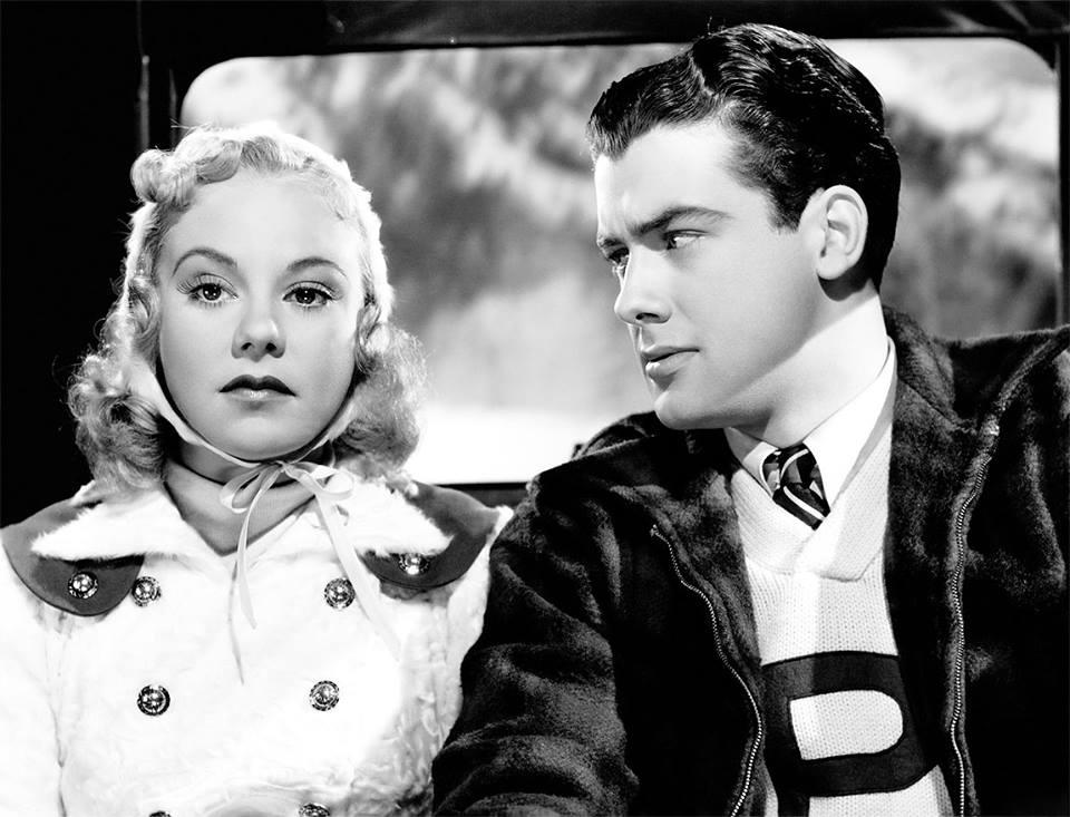 Sonja Henie and Richard Greene in My Lucky Star (1938)