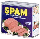 Hormel promoted its Spam processed meat product over The George Burns and Gracie Allen Show