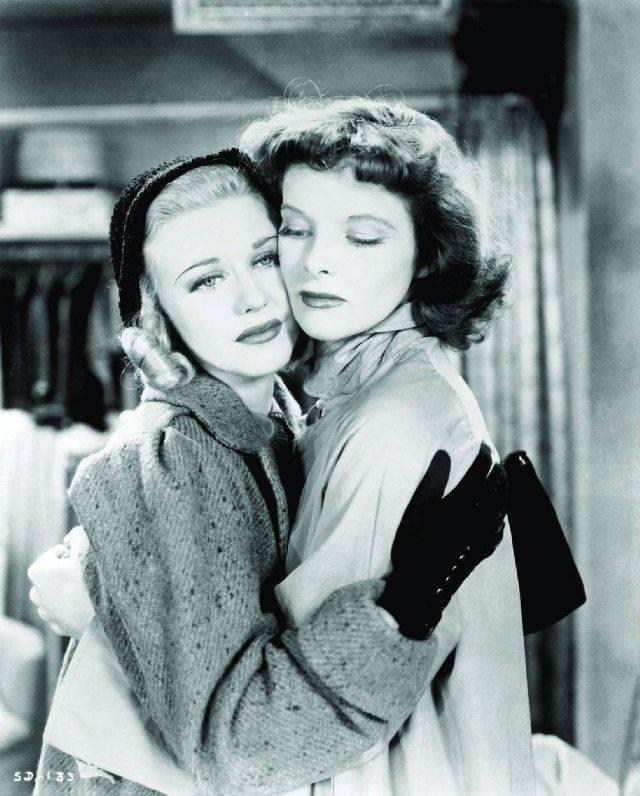 Katharine Hepburn & Ginger Rogers -