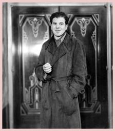 Lionel Stander, publicity still, ca. 1936