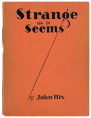 1931 book compilation of Strange As It Seems stories