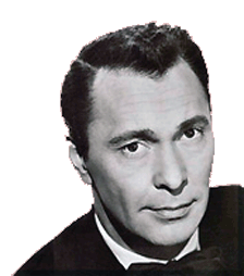 Barry Sullivan publicity photo, ca. 1955