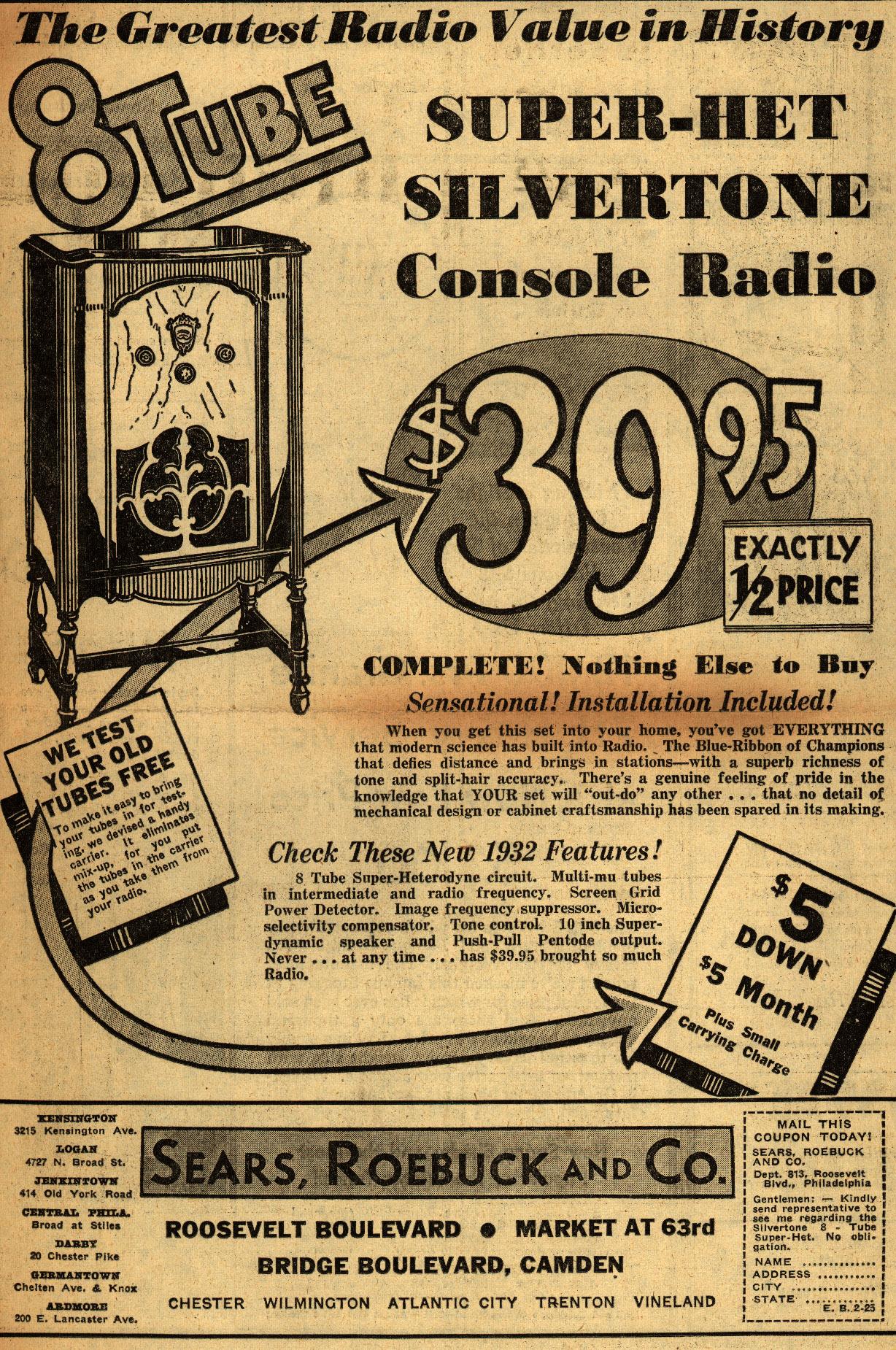 Super-Het_Silvertone_Console_Radio