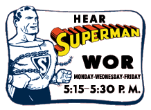 Superman was Bud Collyer's first major lead over Radio