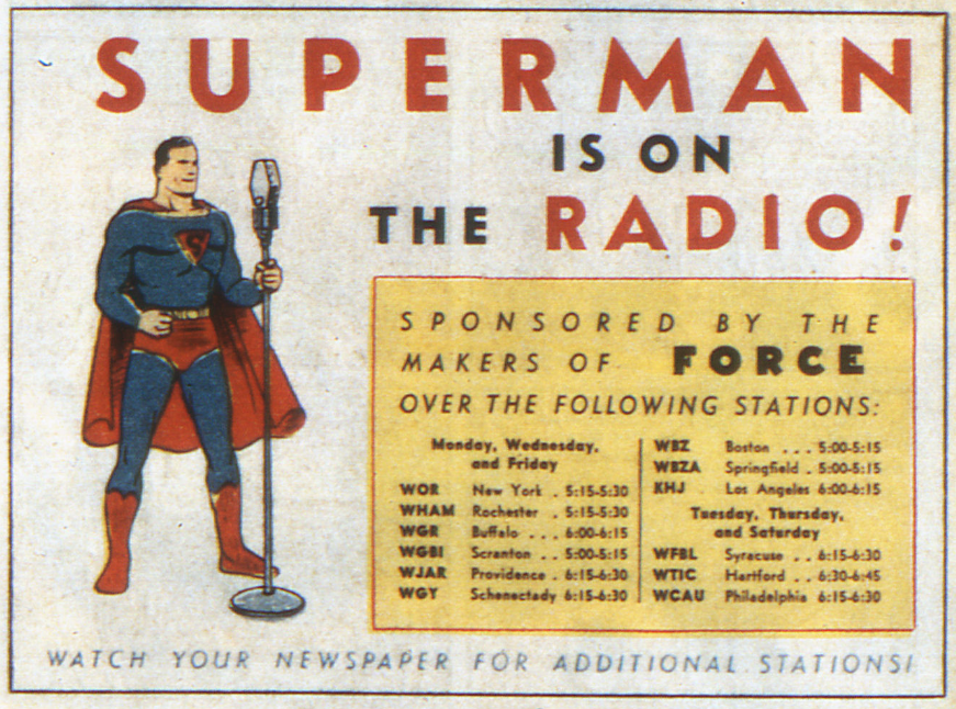 Image result for the adventures of superman radio series