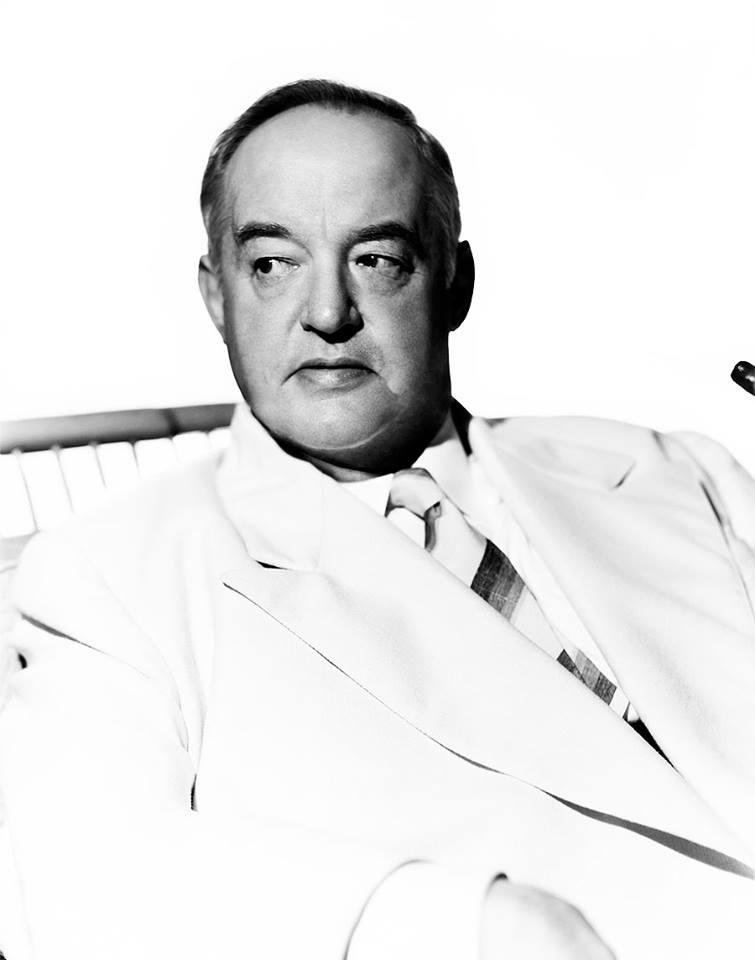 Actor Sydney Greenstreet