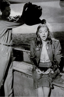 Tallulah Bankhead gets 'watered down' at Hitchcock's direction for her award-winning role in Lifeboat (1944)