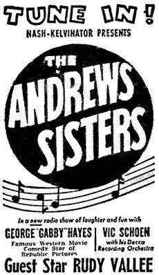 The Andrew sister