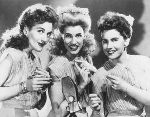 The Andrews Sisters  LaVerne Maxene Patty